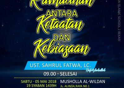 kajian al-wildan ramadhan copy